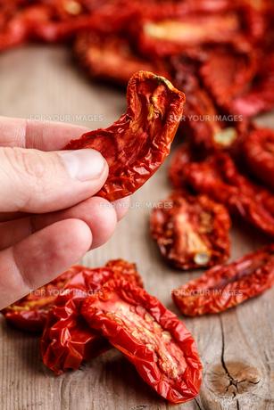Dried tomatoesの素材 [FYI00792089]