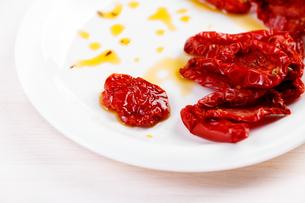 Dried tomatoesの素材 [FYI00792096]