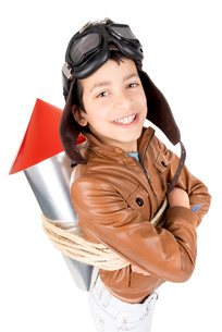 Rocket boyの写真素材 [FYI00792178]