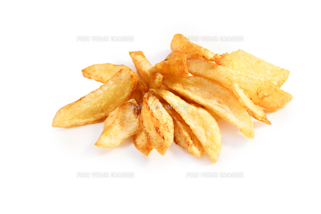 French fries isolatedの写真素材 [FYI00792192]