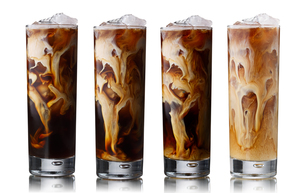 Iced coffee setの写真素材 [FYI00792270]