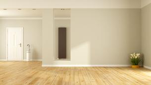 Empty living roomの写真素材 [FYI00792285]