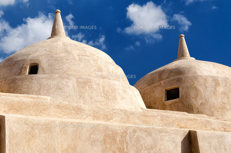 Jami al-Hamoda Mosque in Jalan Bani Bu Ali, Sultanate of Omanの素材 [FYI00792325]