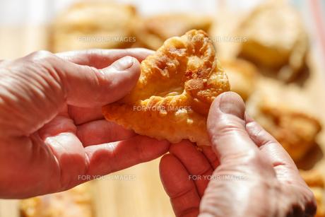 Phyllo cheese pattiesの素材 [FYI00792409]