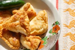 Phyllo cheese pattiesの写真素材 [FYI00792450]