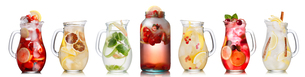 Summer drinks collectionの写真素材 [FYI00792485]
