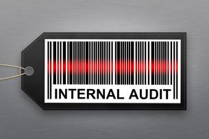 internal audit barcodeの写真素材 [FYI00792755]