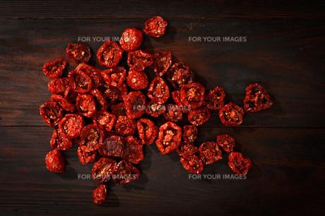 Dried tomatoesの素材 [FYI00792816]