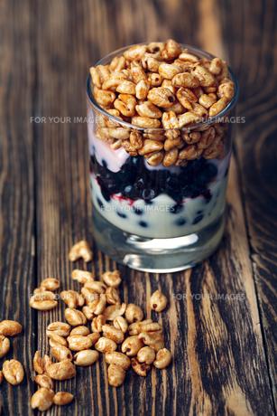 Parfait dessertの写真素材 [FYI00792836]
