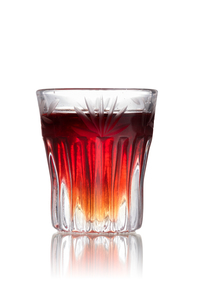 Cranberry cookie shot cocktailの写真素材 [FYI00792856]