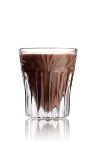 Cappucinotini shot cocktailの写真素材 [FYI00792865]