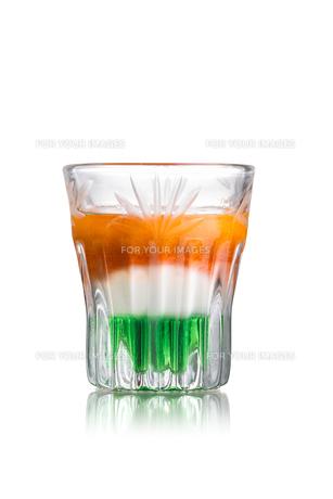 Irish flag shotの写真素材 [FYI00792880]