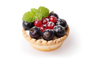 Currant dessertの写真素材 [FYI00792894]