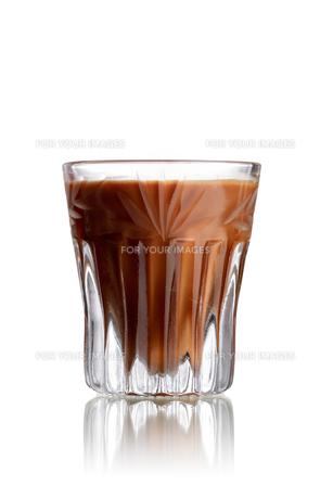 Chocolate Cake shot cocktailの写真素材 [FYI00792896]
