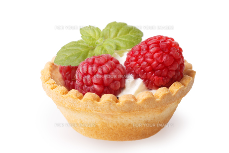 Raspberry dessertの写真素材 [FYI00792912]