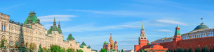 Moscow Kremlin and Red Square, panoramaの写真素材 [FYI00792913]