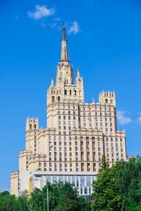 Stalin skyscraper on Kudrinskaya Square, Moscowの写真素材 [FYI00792916]