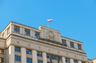 The State Duma of Russian Federationの写真素材 [FYI00792917]