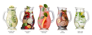 Summer drinks collectionの写真素材 [FYI00792948]