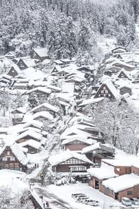 Winter Shirakawagoの写真素材 [FYI00793182]
