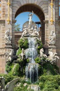 Ciutadella Park Barcelonaの写真素材 [FYI00793192]