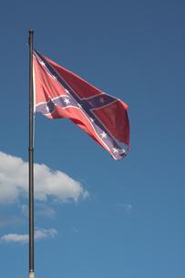 American Confederate Flagの写真素材 [FYI00793289]