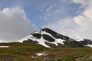 aurlandsfjellet highland pass mountain snow ice mountainの素材 [FYI00793397]