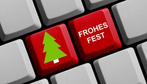 merry christmas onlineの写真素材 [FYI00793411]