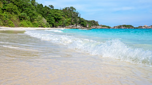 Beach in summer of Thailandの写真素材 [FYI00793487]