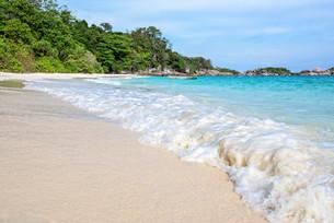 Beach in summer of Thailandの写真素材 [FYI00793498]