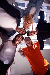 happy students celebrateの写真素材 [FYI00793785]