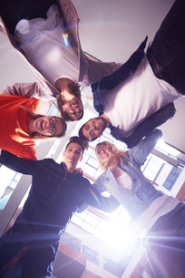 happy students celebrateの写真素材 [FYI00793959]