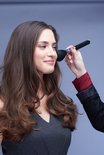 makeupの写真素材 [FYI00794203]