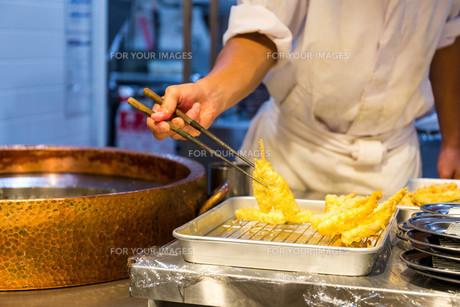Fried Food, Japanese tempuraの写真素材 [FYI00794540]