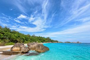 Summer sea in Thailandの写真素材 [FYI00794784]