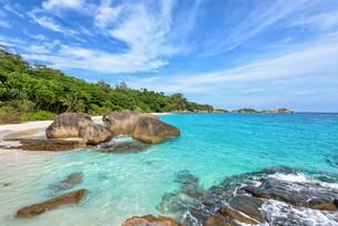 Summer sea in Thailandの写真素材 [FYI00794785]