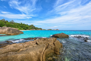 Summer sea in Thailandの写真素材 [FYI00794792]