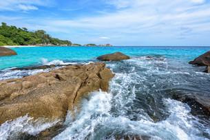Summer sea in Thailandの写真素材 [FYI00794793]