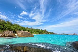 Summer sea in Thailandの写真素材 [FYI00794797]