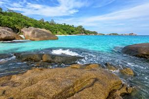 Summer sea in Thailandの写真素材 [FYI00794800]