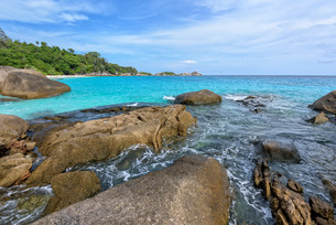 Summer sea in Thailandの写真素材 [FYI00794803]