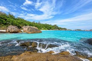 Summer sea in Thailandの写真素材 [FYI00794808]