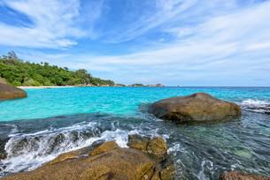 Summer sea in Thailandの写真素材 [FYI00794809]