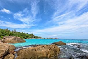 Summer sea in Thailandの写真素材 [FYI00794810]