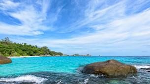 Summer sea in Thailandの写真素材 [FYI00794812]