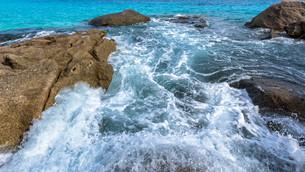 Summer sea in Thailandの写真素材 [FYI00794819]