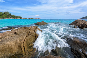 Summer sea in Thailandの写真素材 [FYI00794824]