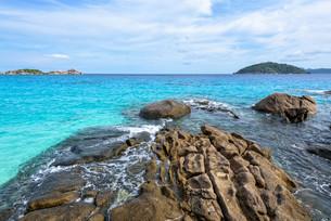 Summer sea in Thailandの写真素材 [FYI00794841]
