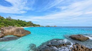 Summer sea in Thailandの写真素材 [FYI00794850]