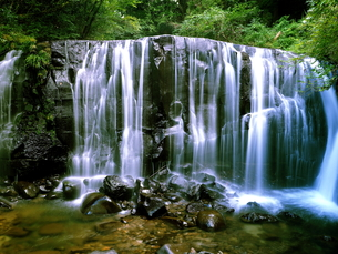 滝の写真素材 [FYI00795058]